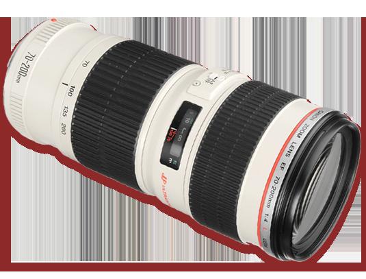 Sewa Lensa Canon 70 200 USM Jogja