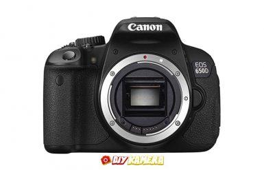 Sewa Kamera Canon 650d Jogja