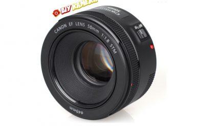 Sewa Lensa Canon Ef 50mm F1.8 Stm Jogja