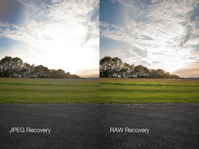Perbandingan Raw Vs JPEG