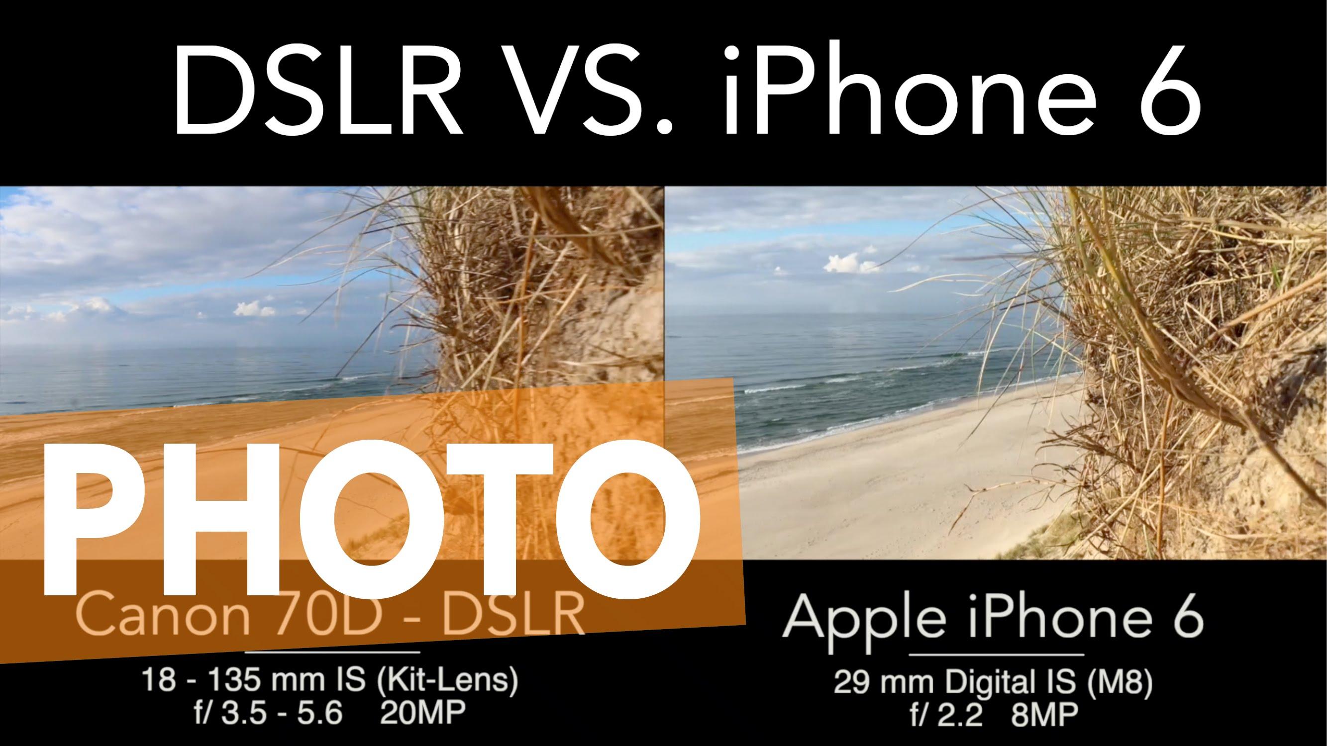 Perbandingan Kamera DSLR Dan IPhone