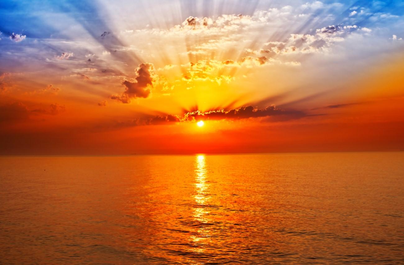 Cara Memotret Sunrise