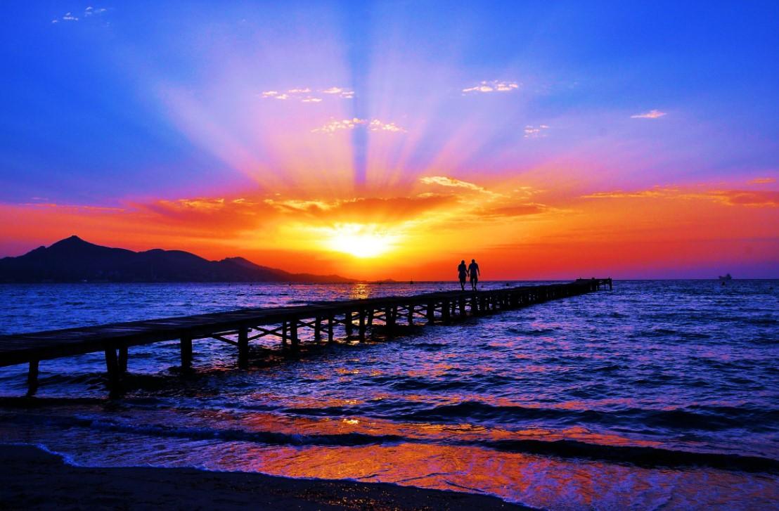Cara Memotret Sunset