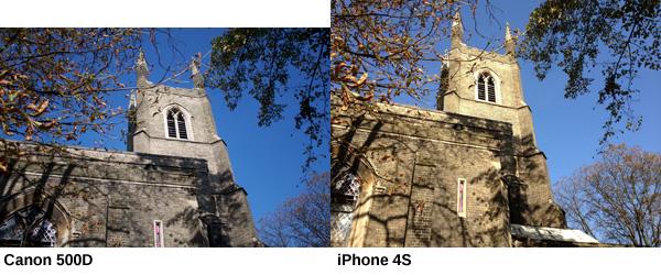 Kamera DSLR Vs Apple IPhone