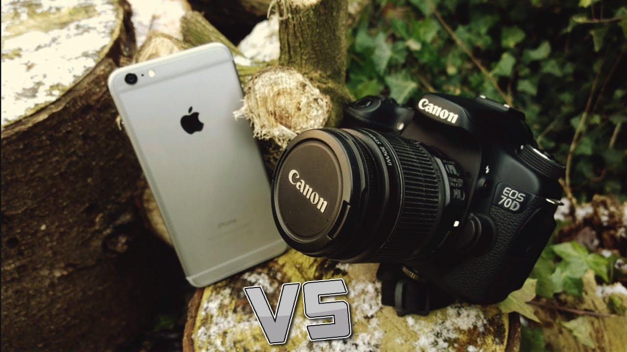 Kamera DSLR Vs IPhone