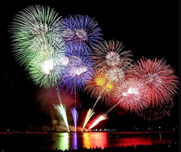 Tips Foto Kembang Api Tahun Baru