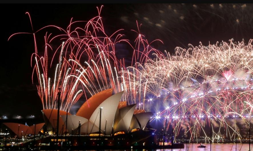 Cara Foto Kembang Api Tahun Baru