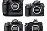 Perbandingan Ukuran Kamera DSLR Full Frame Nikon