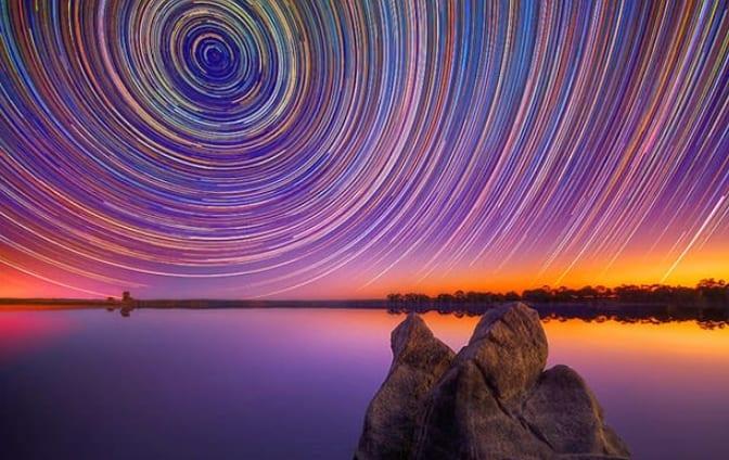 Cara Membuat Foto Star Trail