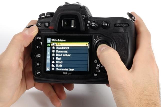 Menu Kamera DSLR Canon