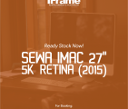 Sewa Imac 27 Inchi 5k Retina Jogja