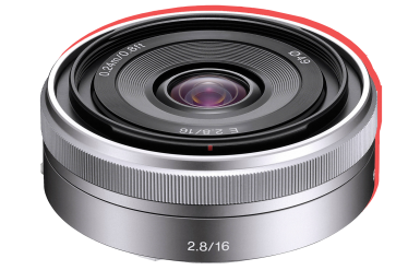 Sony 16mm F2.8 2