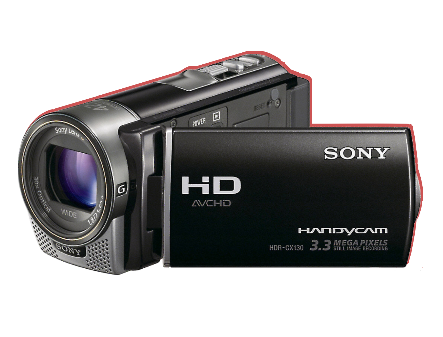 Sony HDR CX 130E 2