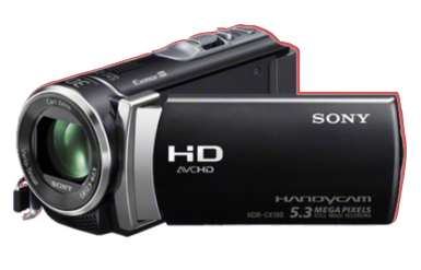Sony HDR CX 190 1