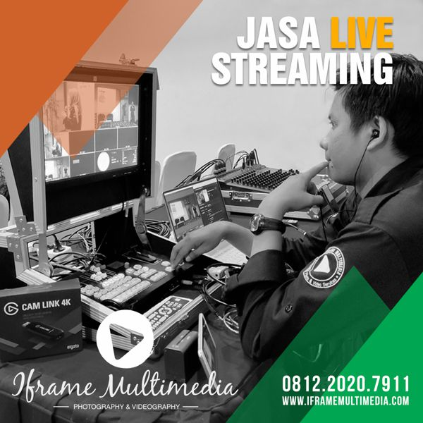 Jasa Live Streaming Event
