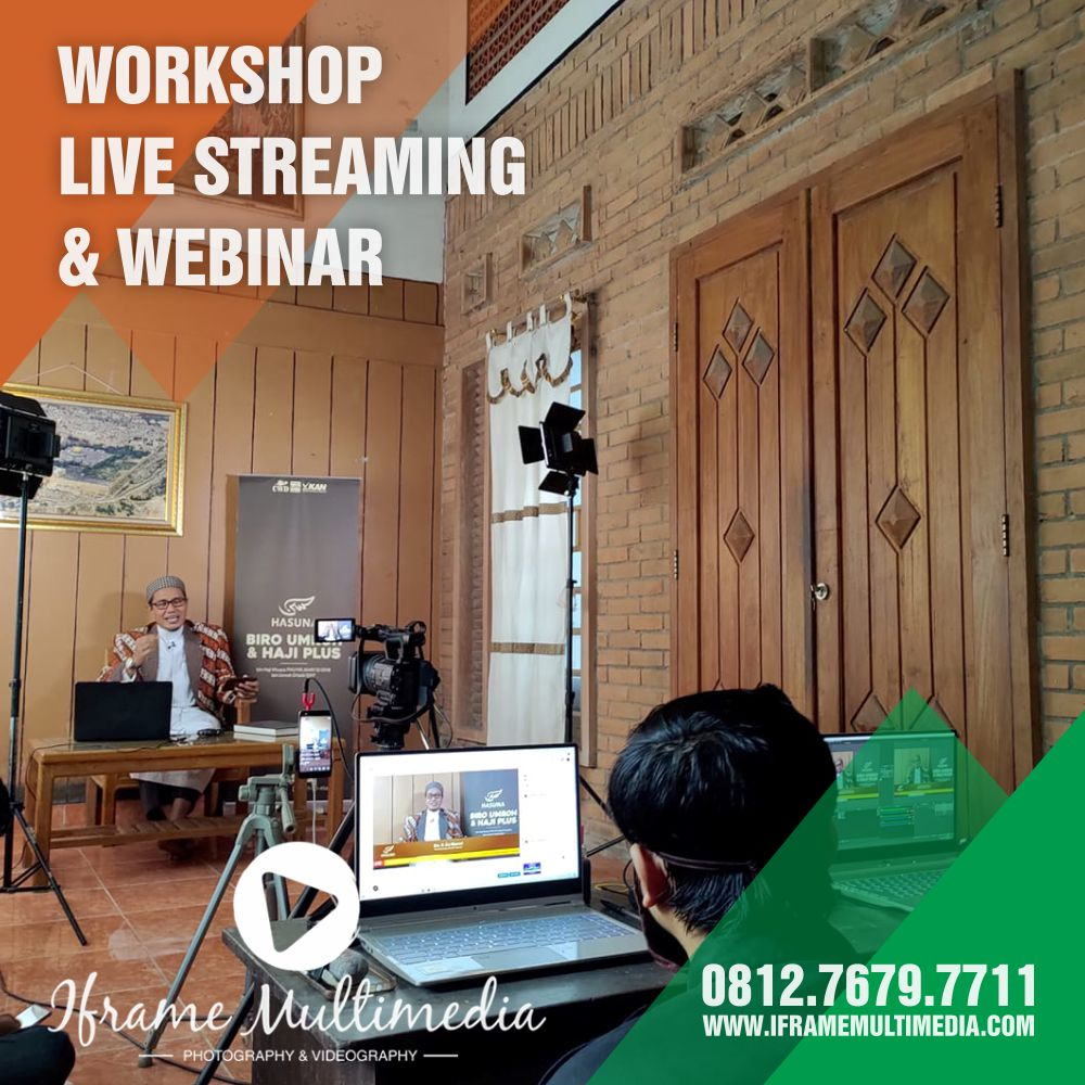 Kelas Live Streaming Webinar Jogja