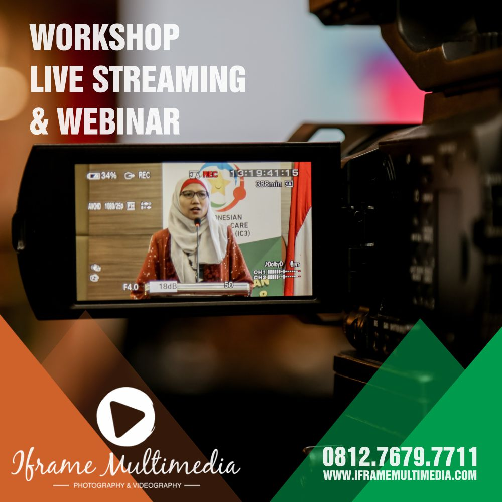 Kelas Live Streaming Webinar