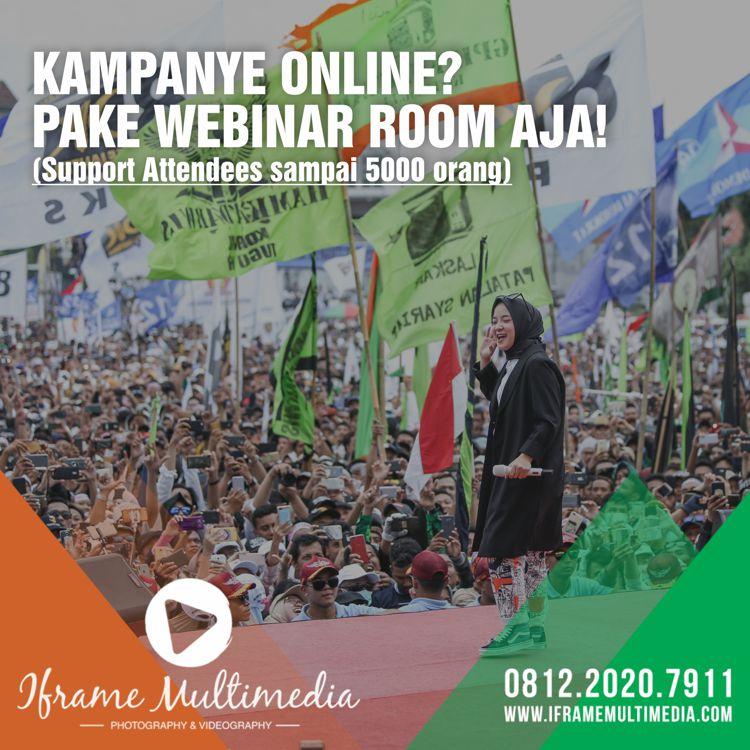 Jasa Kampanye Online Webinar