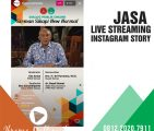 Jasa Live Streaming Instagram Iframe Multimedia