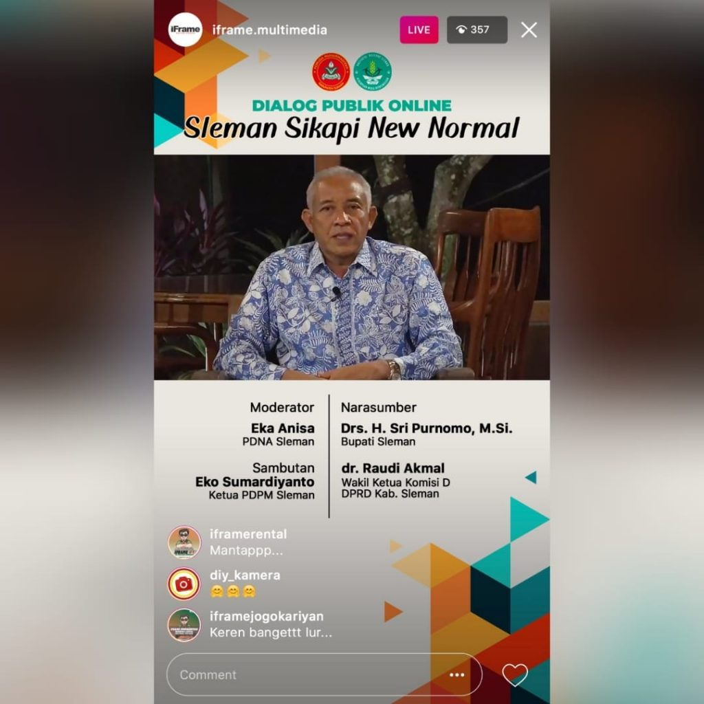 Jasa Live Streaming Instagram Story