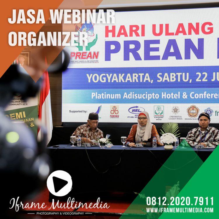 Jasa Webinar Organizer