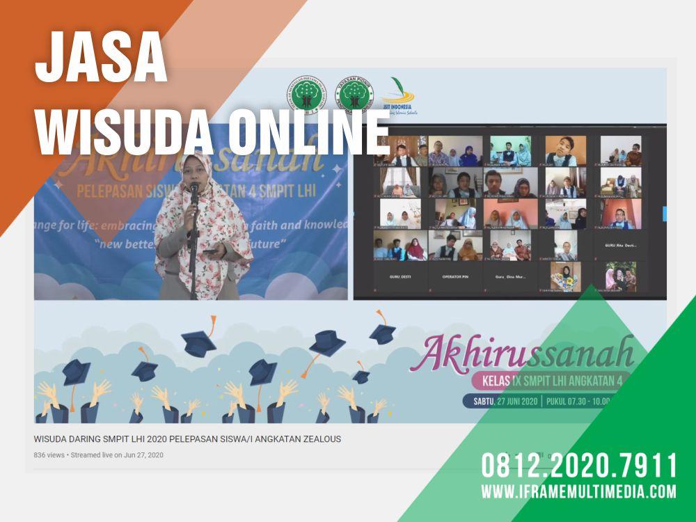 Jasa Wisuda Online