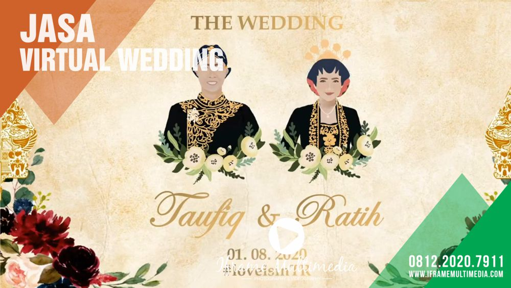 Jasa Virtual Wedding Jogja