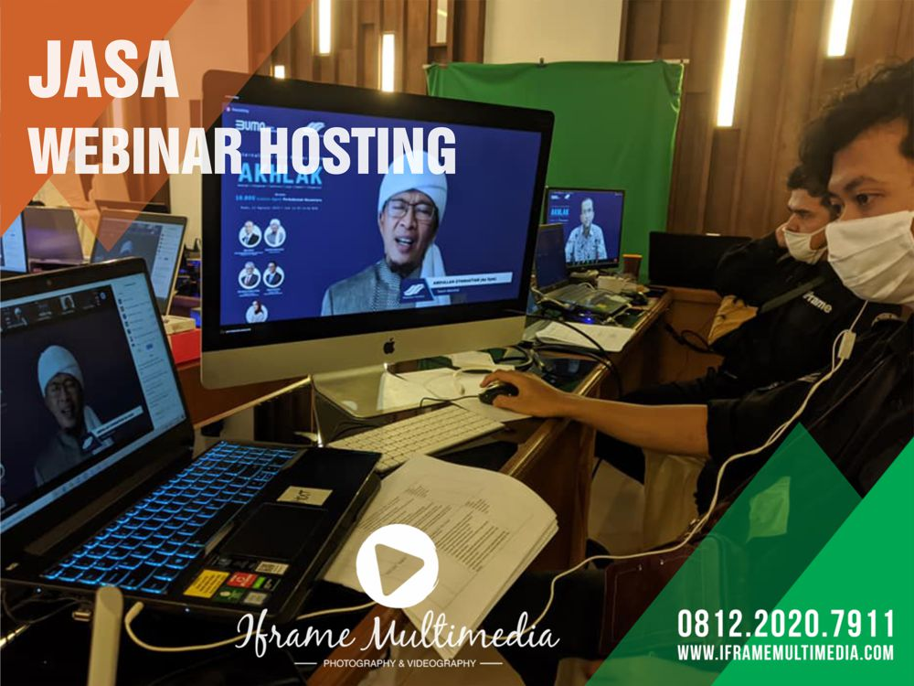 Jasa Webinar Hosting