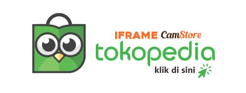 Tombol Tokopedia IFRAME CamStore