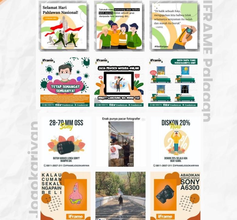 Portofolio Ica 2 - layanan manajemen media sosial