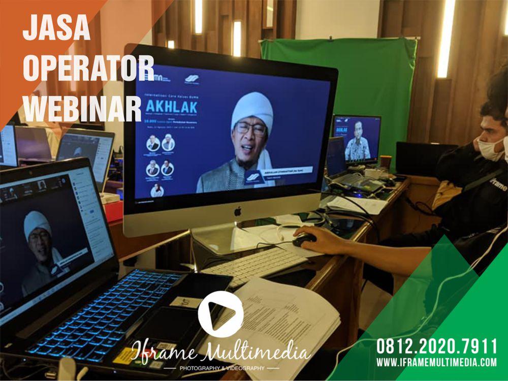 Jasa Operator Webinar Jogja