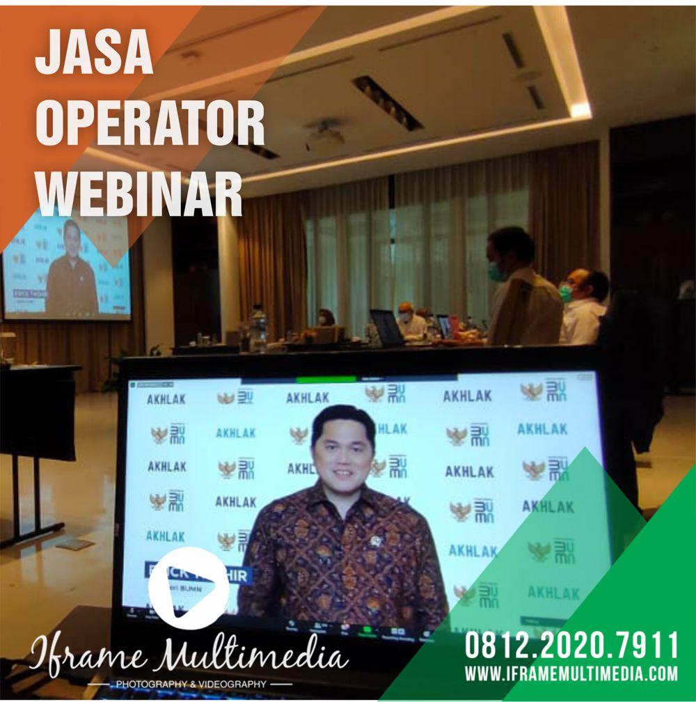 Layanan Operator Webinar